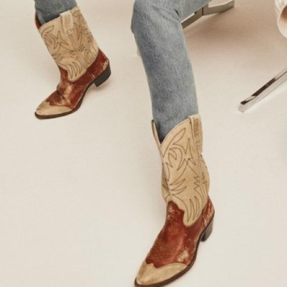 f07e610cc86 Ralph Lauren Cowboy Boots size 6